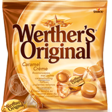 WERTHERS B/SCOTCH  CARAMEL CREME 125g