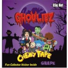 GHOULIEZ CHEWY TAPE GRAPE 65g (12)