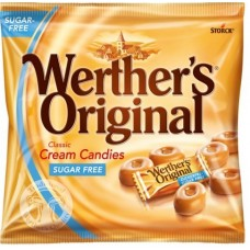 WERTHERS B/SCOTCH  SUGARFREE 60g