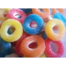 DRAGON SOUR  RINGS 2KG (400)