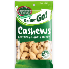 MOTHER EARTH CASHEWS 50g (12)