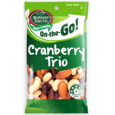 MOTHER EARTH CRANBERRY TRIO 50g (12)