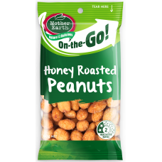 MOTHER EARTH  HONEY ROAST PEANUTS 50g (12)