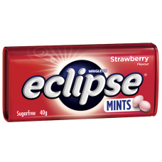 ECLIPSE MINTS TINS - STRAWBERRY (12)